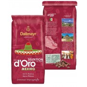 Кофе в зернах Dallmayr Crema d'Oro Selektion Mexico 1 кг