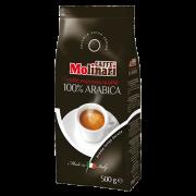 Элитный кофе в зернах Molinari 100% Arabica (Молинари 100% арабика) 500 гр,