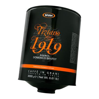 Кофе в зернах Bristot Tiziano 1919, 3 кг