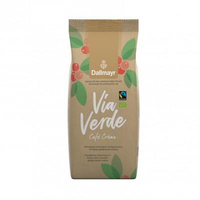 Кофе в зернах Dallmayr Cafe Creme Via Verde 1 кг
