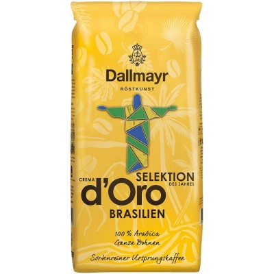 Кофе в зернах Dallmayr Crema d'Oro Brasilien 1 кг