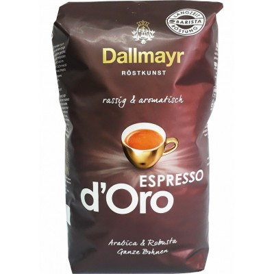 Кофе в зернах  Dallmayr Espresso d Oro 1 кг