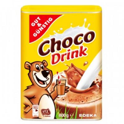 Какао для детей Edeka Choco Drink 800 гр
