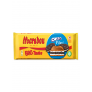 Молочный шоколад Marabou Big Taste Oreo Filled (с кусочками шоколадного печенья) 320 г