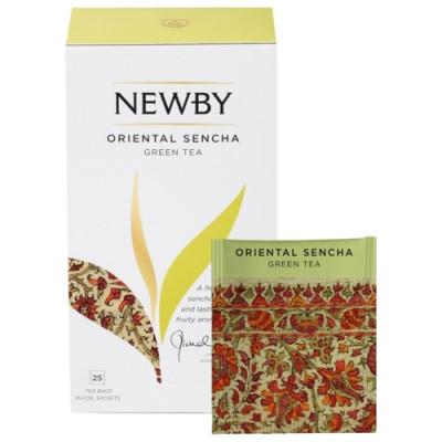 Зеленый чай Newby Oriental Sencha 25 пакетиков 50 г