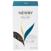 Черный чай Newby Earl Grey 25 пакетиков 50 г