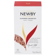 Черный чай Newby Summer Berries 25 пакетиков 50 г