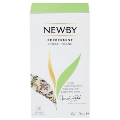 Травяной чай Newby Peppermint 25 пакетиков 50 г