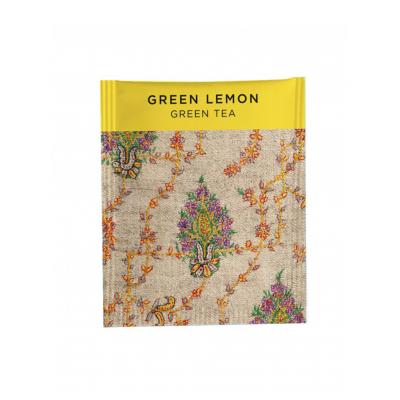 Зеленый чай Newby Green Lemon 25 пакетиков 50 г.