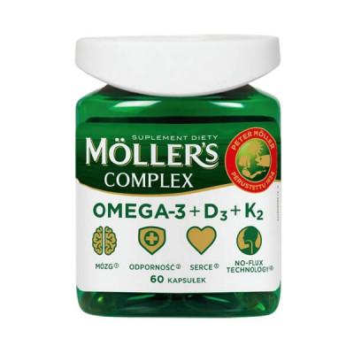 Комплекс Меллерс (Mollers), 60 капс, Норвегия