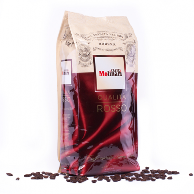 Кофе в зернах Molinari Rosso 1 кг
