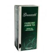 Зеленый жасминовый чай Чунг Хао (Grunewald Tea Jasmine Tea Chung Hao) 25 шт x 1.5 г.