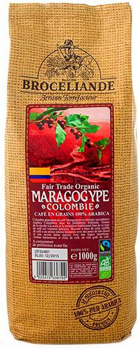 Кофе Броселианд Марагоджип Колумбия