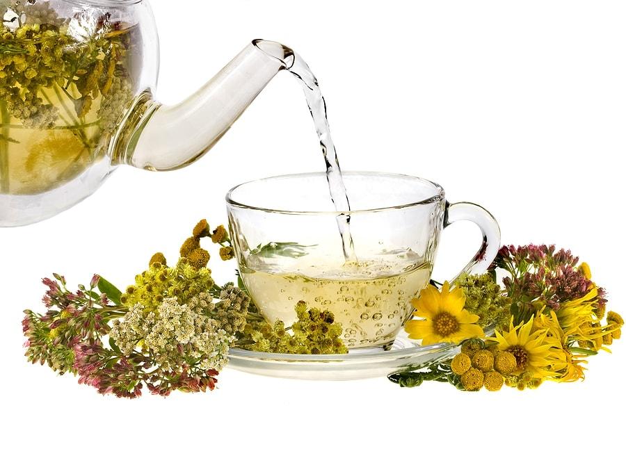 красавицы, горячие и зготовление травеного чая возбужденные