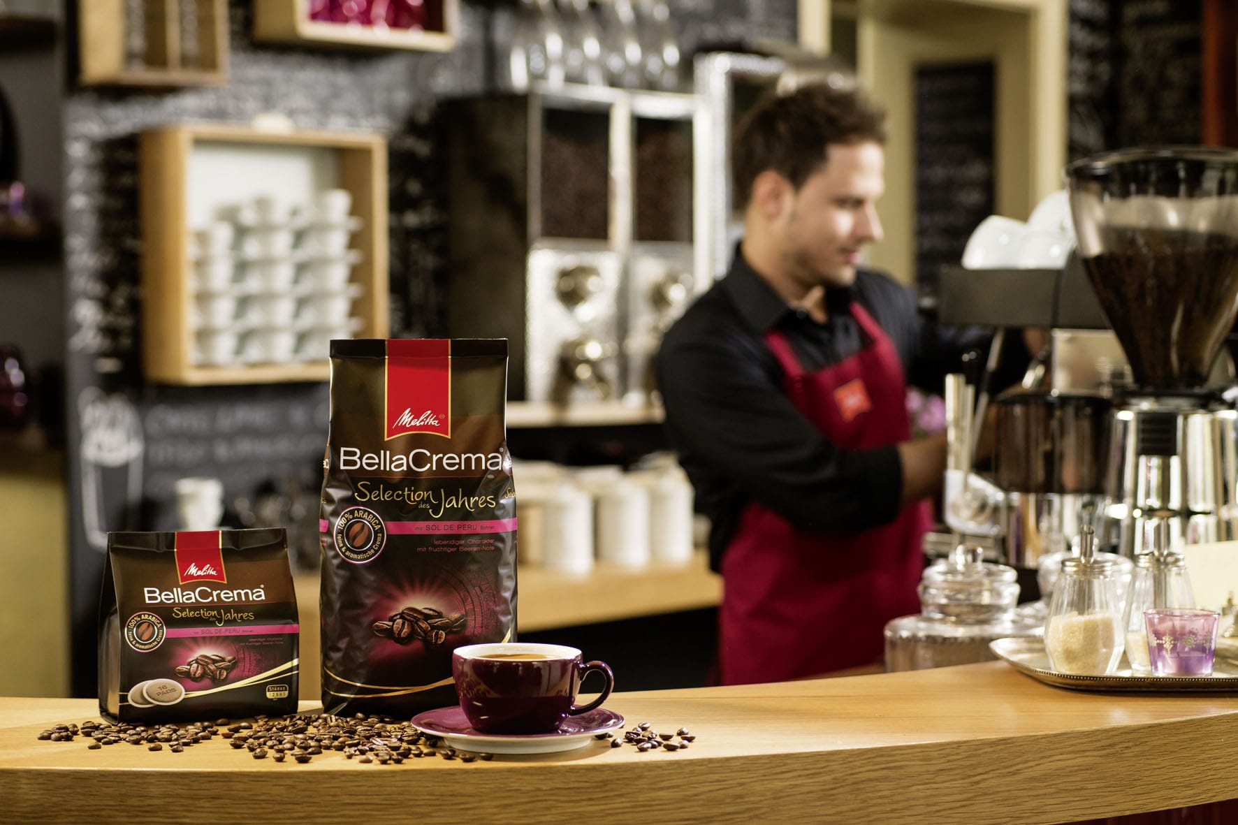 Купить кофе в зернах Melitta в Москве